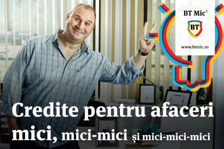 Banca Transilvania lansează BT Mic, companie dedicată finanțării afacerilor mici