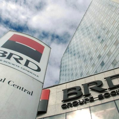 BRD anunţă un profit în creştere cu 63,4% până la 763 milioane lei în 2016