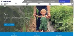 Patria Bank si-a lansat noul website, o platformă utilă unde ai posibilitatea de a solicita produse on-line