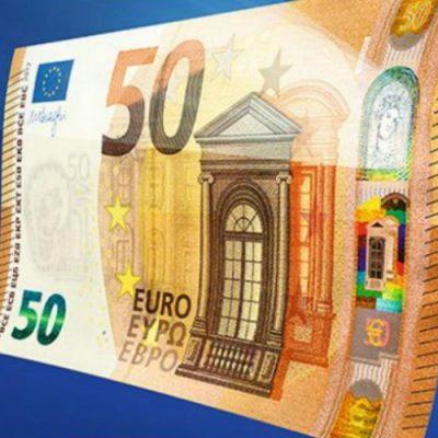 BCE a pus de astăzi în circulație noua bancnotă de 50 de euro, ce aduce noi elemente de securitate