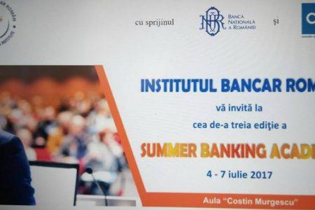Institutul Bancar Român te invită la cel mai amplu proiect de educaţie specializată: Summer Banking Academy