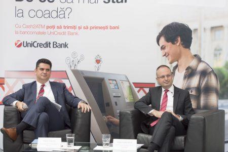 Premieră în România: MoneyGram şi UniCredit Bank lansează serviciul internațional de transfer bancar, Cash2ATM, ce permite clienților să trimită și să primească bani 24/7