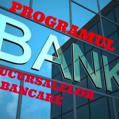 Programul băncilor în minivacanţa de 1 Decembrie
