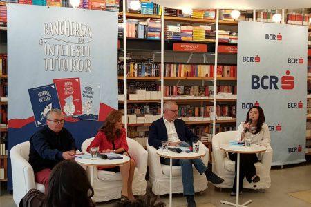 Vicepreședintele BCR, Dana Demetrian, explică politicienilor de ce este bine să țină banii pe card