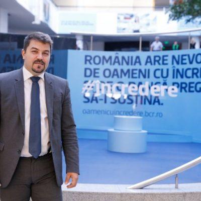 BCR a aprobat antreprenorilor romani peste 1.300 de credite de prefinanțare în cadrul programului StartUp Nation. Lucian Mâțu: Energiile lor creative reprezintă resursa de care România are nevoie pentru a se dezvolta pe viitor