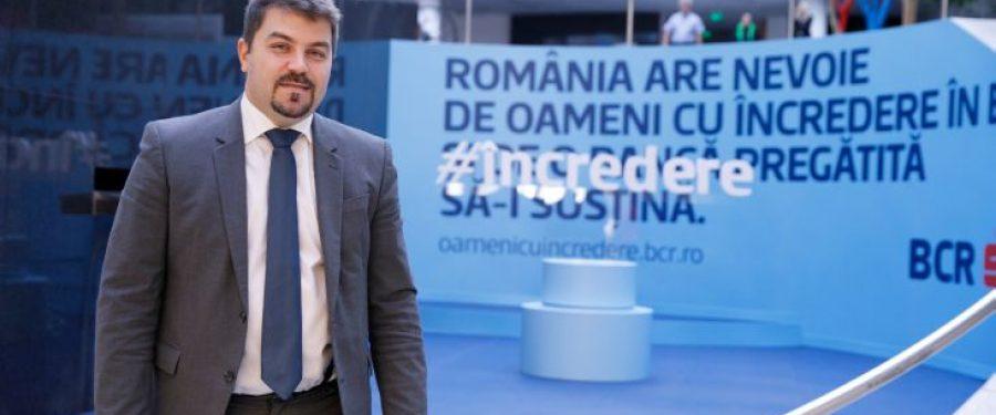 """Lucian Mâțu, BCR: """"Succesul unei afaceri ține în primul rând de modul în care sunt administrate și cheltuite resursele financiare"""""""