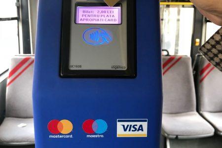 Sibiu, Smart City cu ajutorul BCR. Sibienii își pot achita calatoria în mijloacele de transport cu cardul contactelss