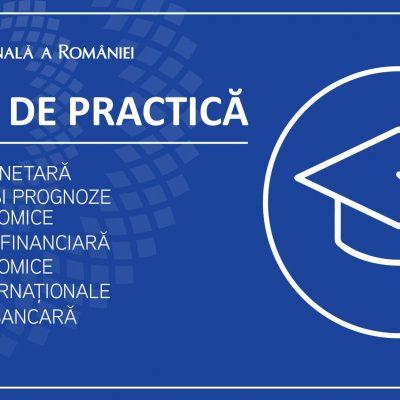 Dacă eşti student, masterand sau doctorand ai şansa unor stagii de practică la BNR
