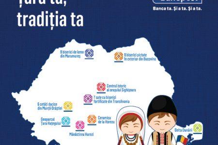Bancpost şi Comisia Naţională a României pentru UNESCO, parteneriat strategic pentru promovarea valorilor culturale româneşti