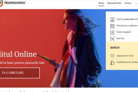 Banca Transilvania lansează Creditul Online pentru nevoi personale