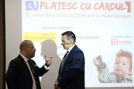 """Specialiștii industriei de carduri se întâlnesc pe 26 aprilie la cea de-a V-a ediție a conferinței """"EU plătesc cu cardul"""""""