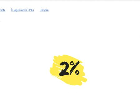 ONG-urile sunt ajutate să primească 2% cu ajutorul aplicației web Redirectioneaza.ro