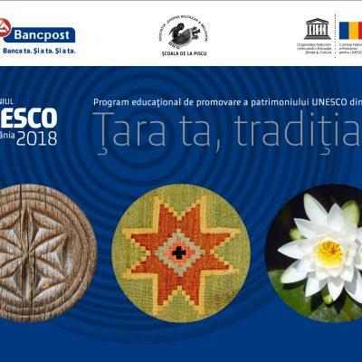 """Programul educational """"Tara ta, traditia ta"""" initiat si dezvoltat de Bancpost a fost recunoscut la nivel european"""