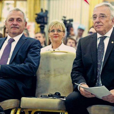 Guvernatorul Mugur Isărescu s-a întâlnit cu Premierul Viorica Dăncilă la Parlament, în biroul lui Liviu Dragnea