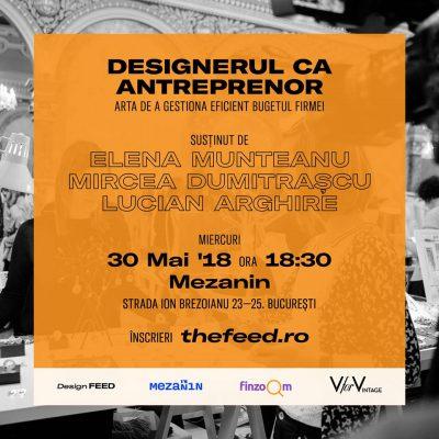 30% dintre tinerii designeri români vor să învețe cum să-și gestioneze mai bine banii și afacerea