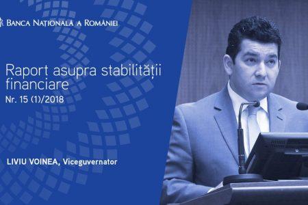 Liviu Voinea, BNR: Riscul de nerambursare a creditelor este în creştere
