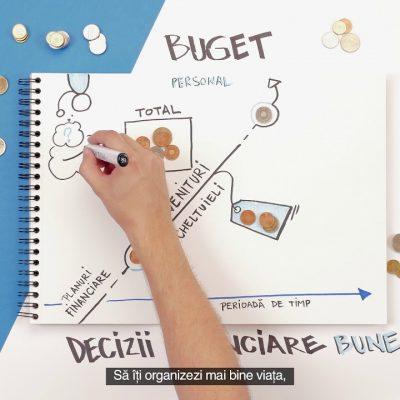 BCR lansează cea mai mare campanie de educație financiară din România: timp de 10 săptămâni, 1.000 de angajați oferă în 100 de sucursale bancare cursuri gratuite la Școala de bani