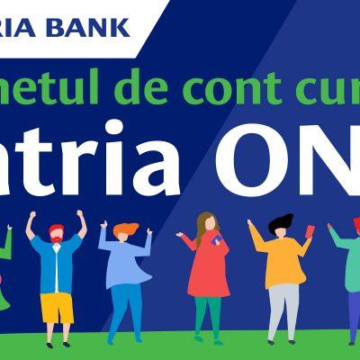 Patria Bank lansează contul PatriaONG cu facilităţi pentru organizaţiile neguvernamentale din România
