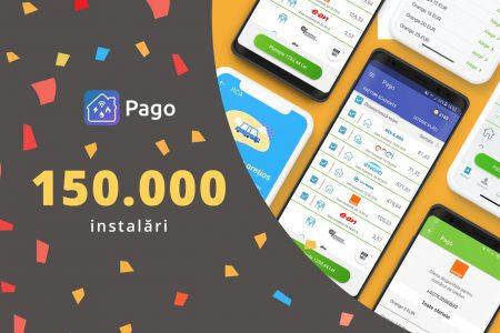 Aplicația Pago a fost descărcată de 150.000 de ori în decurs de un an