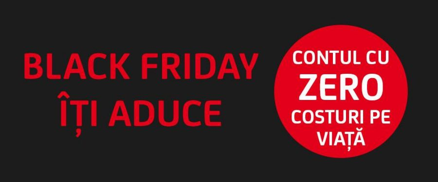 Cu ce oferte vin băncile de Black Friday. Unicredit: primele 1.000 de persoane fizice, tranzacții fără costuri, pe viață