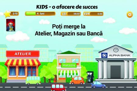 Alpha Bank și APPE au lansat Kids, prima aplicație de educație financiară destinată copiilor, avizată MEN
