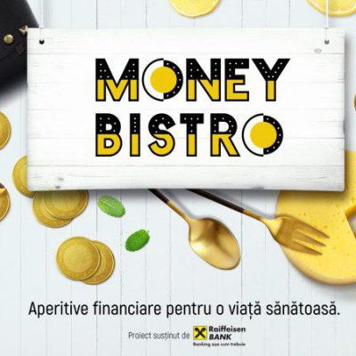 "Money Bistro by Raiffeisen Bank: Chef Marius Tudosiei a povestit cum își împarte un antreprenor""plăcinta"" cheltuielilor"