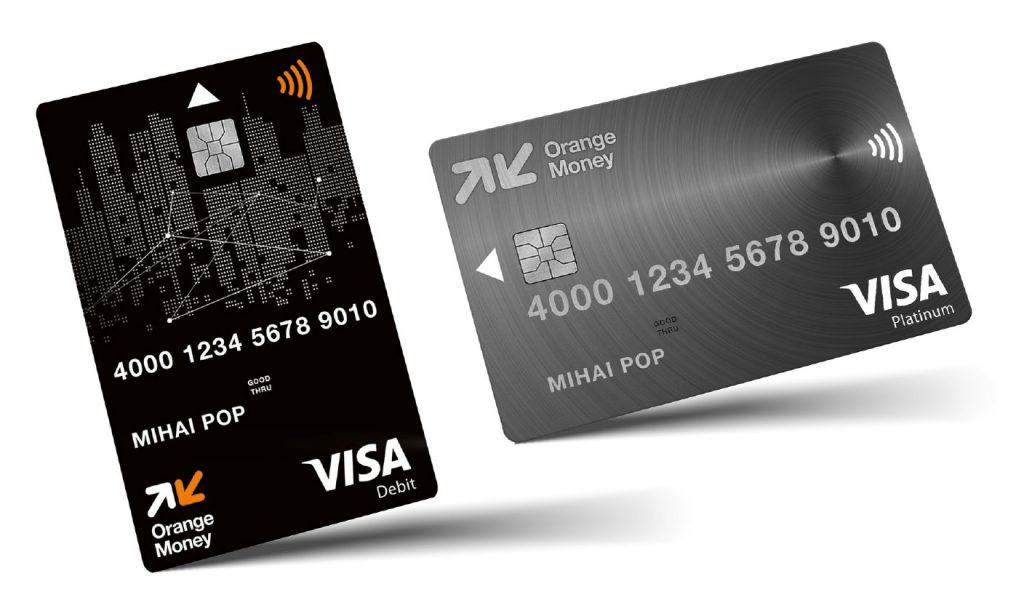 Premieră: Orange Money lansează primul card Visa cu design vertical din România