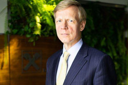 Raiffeisen Bank a realizat un profit de 178 milioane lei. Steven van Groningen: Am continuat sa crestem echilibrat, daca ne gandim la finantarile pe care le-am acordat companiilor sau populatiei