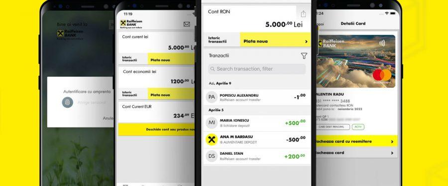 """Raiffeisen Bank a lansat noile aplicații de mobile și internet banking. Steven van Groningen: """"Acestea sunt baza ecosistemului digital pe care îl construim"""""""