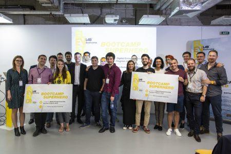 9 startup-uri fintech si-au prezentat produsele la Elevator Lab Bootcamp Demo Night, eveniment din cadrul programului educațional organizat de Raiffeisen Bank