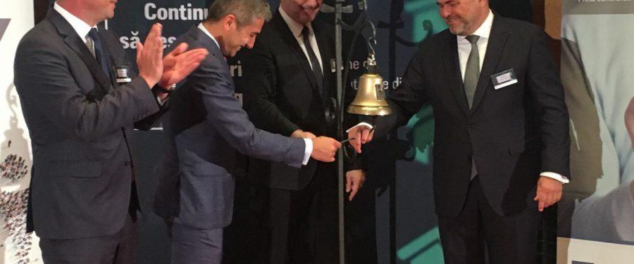 """Alpha Bank sună clopoțelul pentru ieftinirea creditelor ipotecare. Sergiu Oprescu: """"Astăzi am plantat o floare pe piața obligațiunilor ipotecare, dar încă nu a venit primăvara"""""""