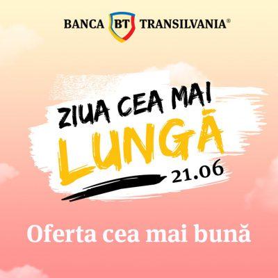 Solstițiul de vară vine cu 15 ore de shopping bancar online, discounturi la credite şi puncte STAR cadou de la Banca Transilvania