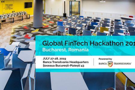 Start înscrieri la Global FinTech Hackathon, competiție susținută de Banca Transilvania. Premii de 7.000 de euro pentru cele mai bune idei FinTech