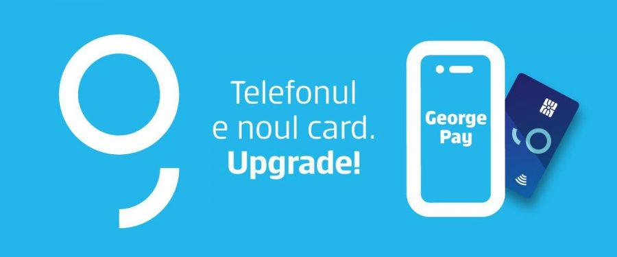 George Pay e oficial! De astăzi, îți activezi plata cu telefonul și plătești mai simplu, cu orice card BCR