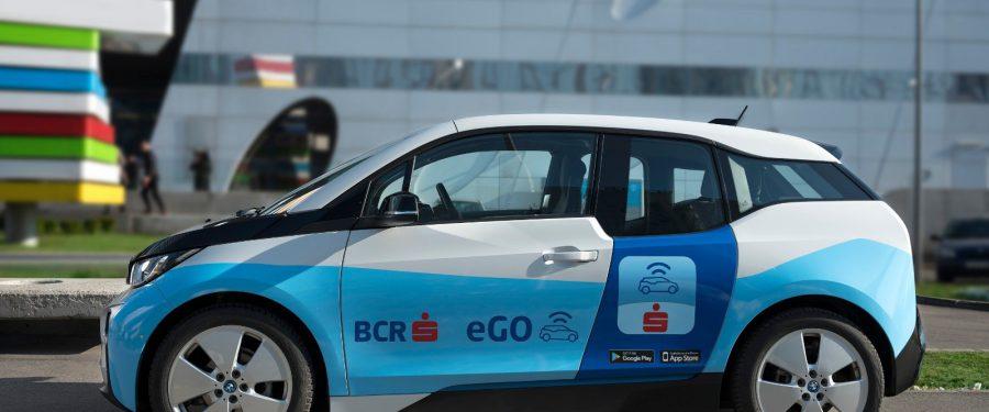 Serviciul de car-sharing electric eGO se lansează la Timișoara, în parteneriat cu Banca Comercială Română