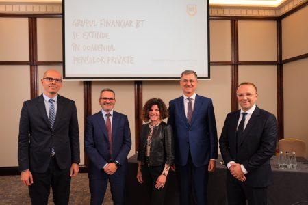 Grupul Financiar Banca Transilvania face o nouă achiziție și se extinde în domeniul pensiilor private