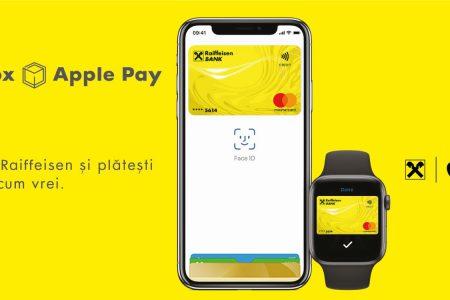 Raiffeisen Bank a lansat Apple Pay, o metodă de plată simplă și sigură