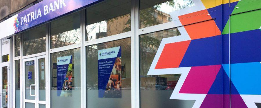 Patria Bank a realizat un profit net de 5,8 milioane lei în primele nouă luni și continuă trendul pozitiv din primele două trimestre