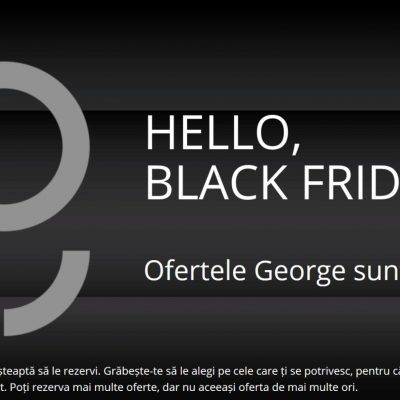 Cu ce oferte vin băncile de Black Friday. BCR mizează pe George și oferă discounturi importante