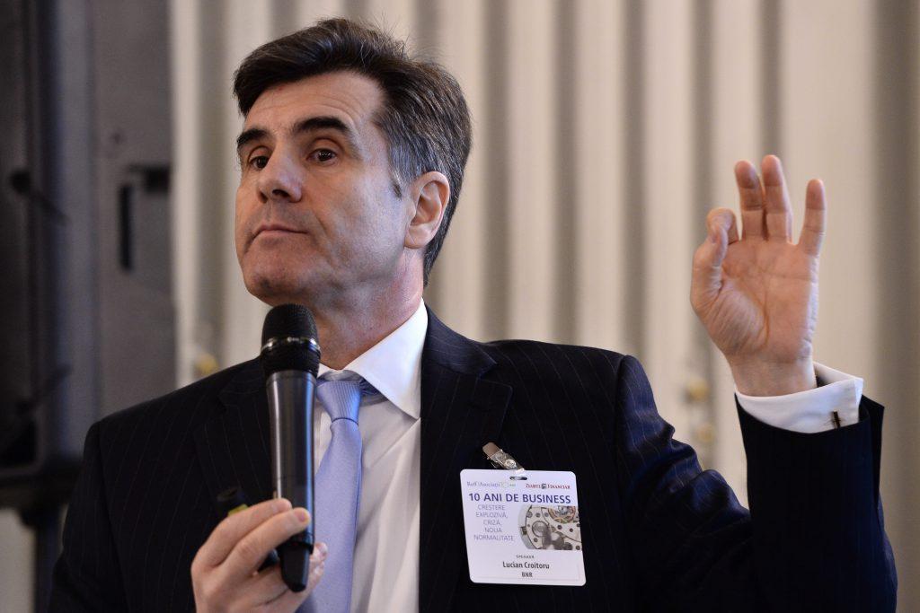 Lucian Croitoru, BNR: Ne apropiem de recesiune