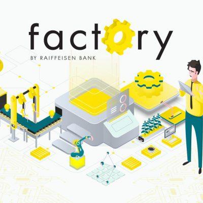 """Astăzi se lansează a treia editie a Programului """"Factory by Raiffeisen Bank"""". Banca ofera credite startup-urilor în valoare totala de 5 milioane euro"""