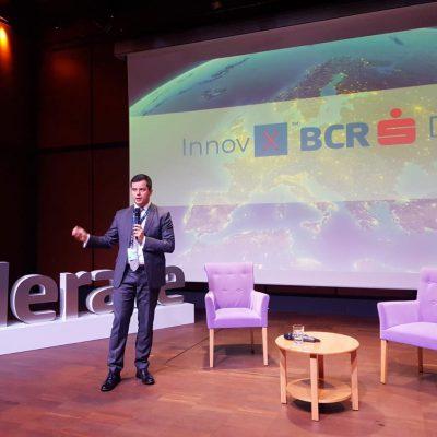 BCR-InnovX, programul de accelerare a afacerilor din tehnologie se extinde în Transilvania. Ionuț Stanimir, BCR: Vrem să contribuim la dezvoltarea produselor și soluțiilor inovatoare made in Cluj
