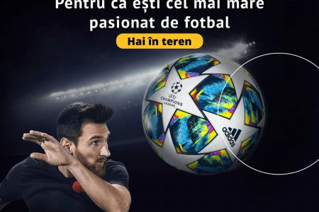 După tenis și baschet, Banca Transilvania mizează pe fotbal și scoate pe teren o nouă campanie online: Fii golgheter cu cardul STAR