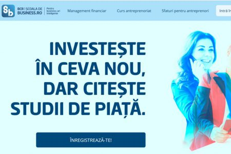 BCR a lansat Școala de Business, un program de educație antreprenorială. Dana Dima: Curajul este esențial pentru un antreprenor, dar trebuie să fie realist și să își seteze o marjă de eroare