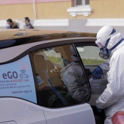 CORONACRIZĂ. Grupul BCR pune la dispoziție mașinile din flota de car sharing electric către spitale și personalul medical