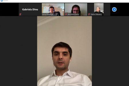 CORONACRIZĂ. BCR a organizat prima conferință de presă online. Vlad Huțuleac și Delia Olteanu au explicat soluțiile de amânare a ratelor pentru populație și firme. 13.000 de persoane fizice și câteva sute de micro-companii au făcut deja cereri