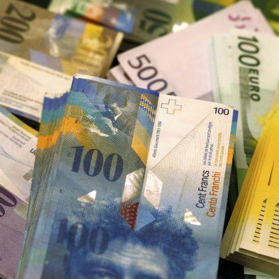 Banca Națională a Elveției a înregistrat pierderi de 38,2 miliarde CHF în primul trimestru al anului