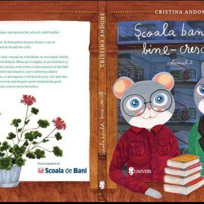 BCR lansează volumul II din cartea Școala banilor bine-crescuți care conține prima poveste din România despre cum ne gestionăm resursele în timpuri de criză