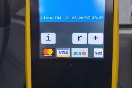 Calătorii contactless la STB, direct din autobuz. BCR a implementat plata cu cardul direct în mijloacele de transport în comun din Capitală