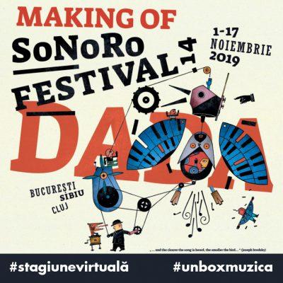 #stagiuneavirtuala de la Raiffeisen Bank. Marți, un documentar original despre Festivalul SoNoRo